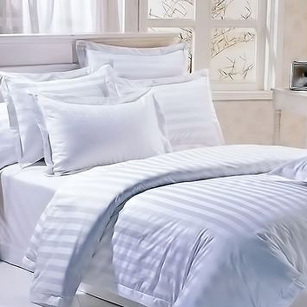 Satin-stripe-bed-sheet